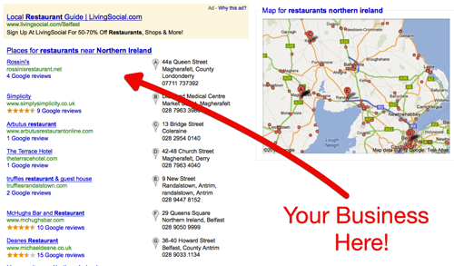 Google Places - Local Businesses